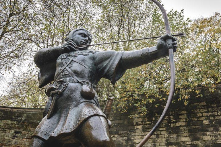 Der Bogen als Waffe im Mittelalter