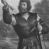 Stahlstich von Johann Leonhard Raab nach Pecht, um 1859